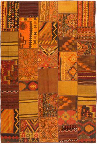 Kilim Patchwork carpet FRKC384