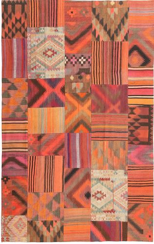 Kilim Patchwork carpet ABCX2317