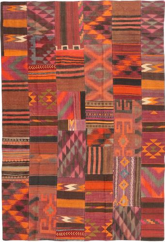 Tappeto Kilim Patchwork ABCX2323