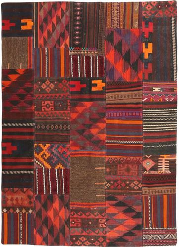 Kelim Patchwork tapijt ABCX2338