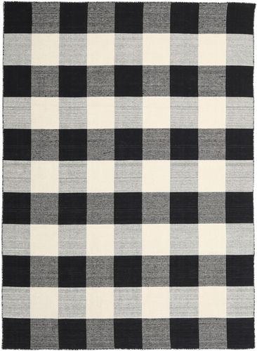 Check Kilim carpet CVD17186