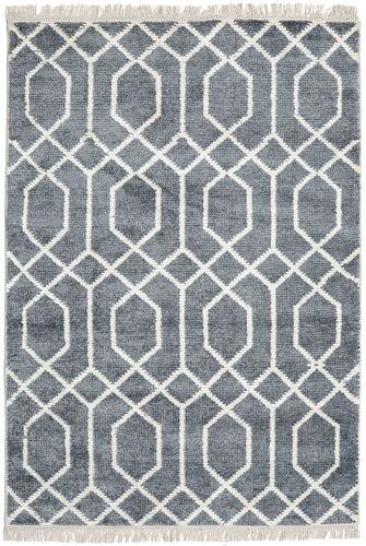 Bamboe zijde Vanice - Grijs tapijt CVD17381