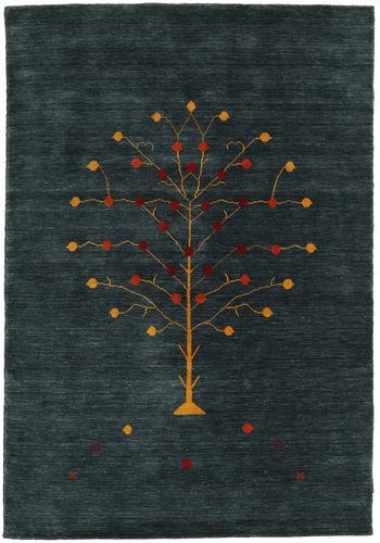 Loribaf Loom Designer - Petrol teppe CVD17016