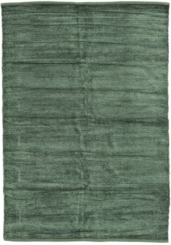 Alfombra Kilim Chenilla - Verde hierba CVD17114