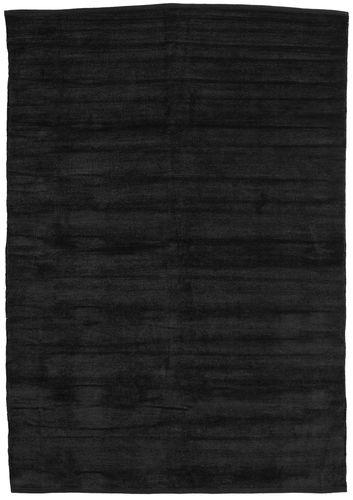 Kelim Chenille - Kolsvart matta CVD17138
