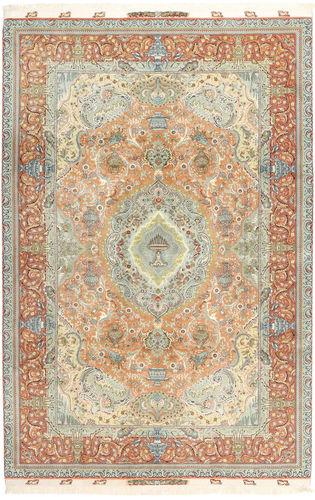 Tabriz#70 Raj silketrend tæppe AXVZZH146