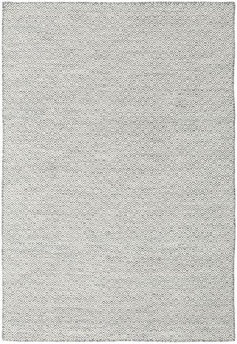 Kilim Goose Eye - Goose Eye Dark Grey rug CVD18856