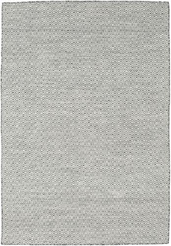 Kilim Goose Eye - Goose Eye Black / Grey rug CVD18892