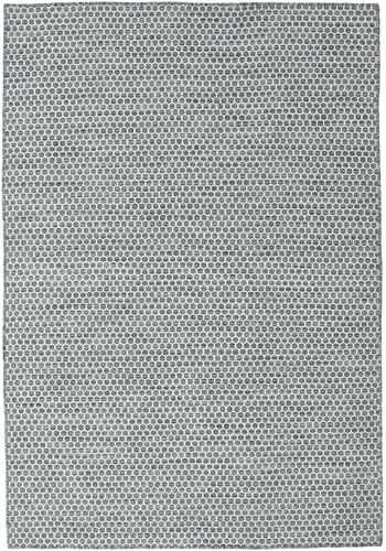 Kilim Honey Comb - Dark Grey carpet CVD18760