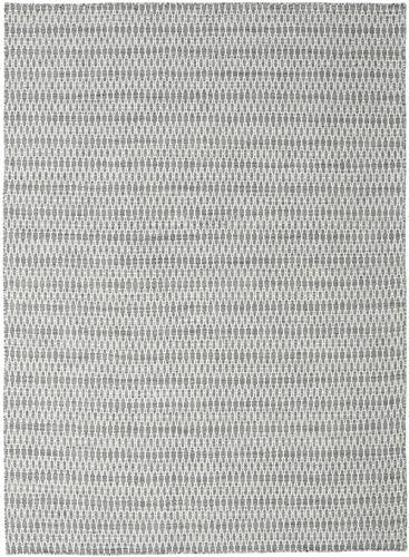 Kilim Long Stitch - Dark Grey carpet CVD18828