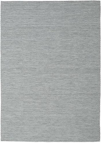 Kilim Honey Comb - Dark Grey carpet CVD18753