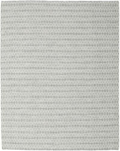 Kelim Long Stitch - Grå teppe CVD18815