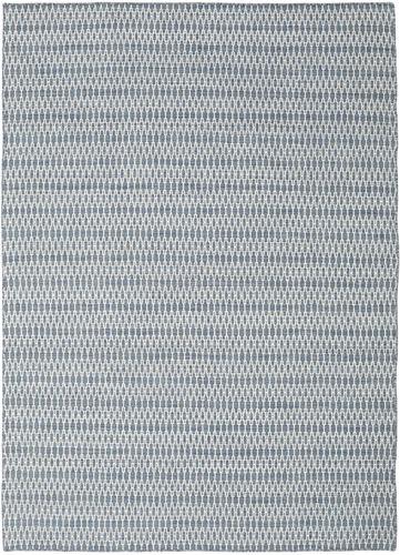 キリム Long Stitch - Long Stitch 青 絨毯 CVD18804