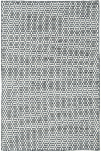 Kilim Honey Comb - Dark Grey carpet CVD18763