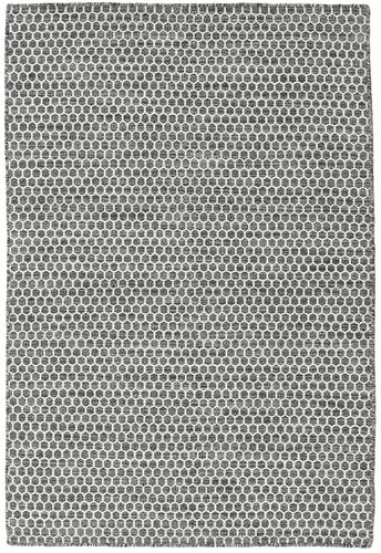Kilim Honey Comb - Honeycomb Black / Grey carpet CVD18739