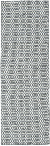 Kelim Honey Comb - Honeycomb Donker Grijs tapijt CVD18759