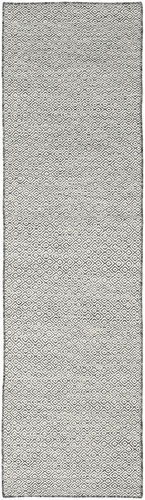Kilim Goose Eye - Black / Grey carpet CVD18889