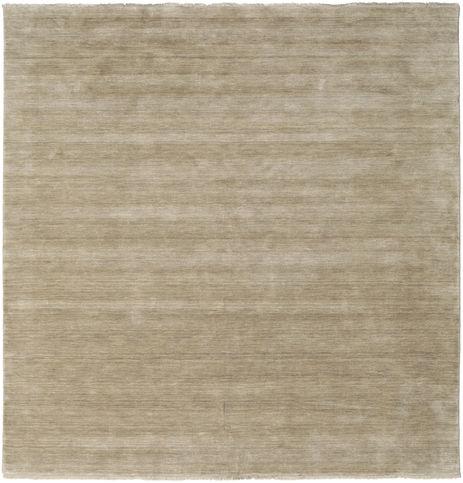 Handloom fringes - Ljusgrå / Beige matta CVD16593