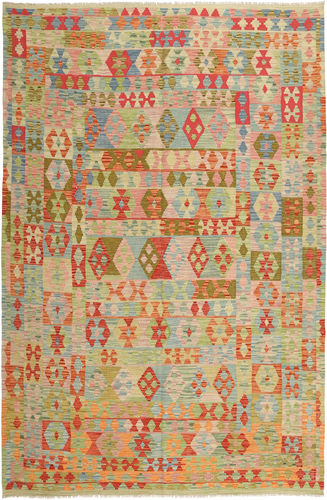 Kelim Afghan Old style matta AXVZX5490