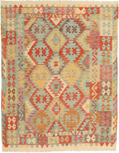 Kilim Afghan Old style carpet AXVZX5440