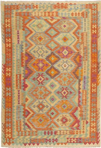 Kelim Afghan Old style matta AXVZX5451