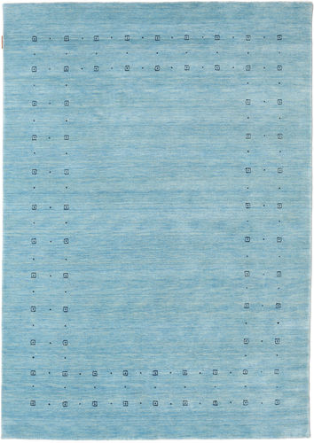 Loribaf Loom Delta - Light Blue rug CVD18024