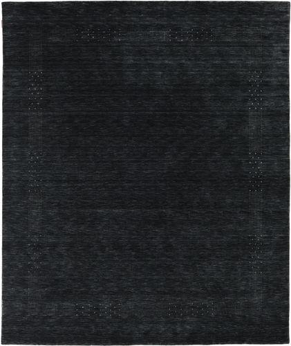 Loribaf Loom Beta - Sort / Grå tæppe CVD17970