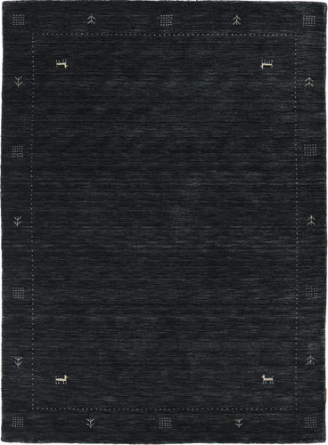 Loribaf ルーム Zeta - 黒 / グレー 絨毯 CVD18015