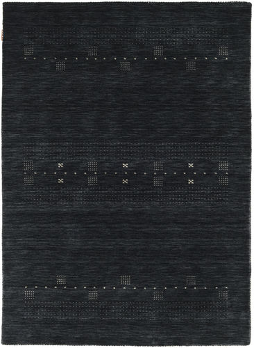 Loribaf Loom Eta - Zwart / Grijs tapijt CVD18005