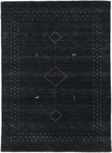 Loribaf Loom Alfa - Svart / Grå matta CVD17985