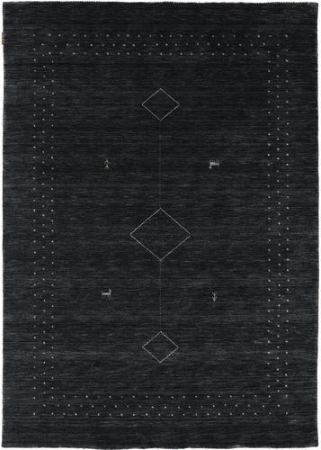 Loribaf Loom Alfa - Svart / Grå matta CVD17984
