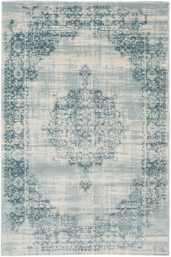 Jinder - Cream / Light Blue rug RVD19077