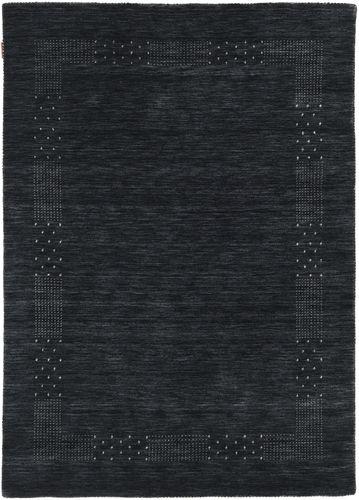 Loribaf Loom Beta - Zwart / Grijs tapijt CVD17975