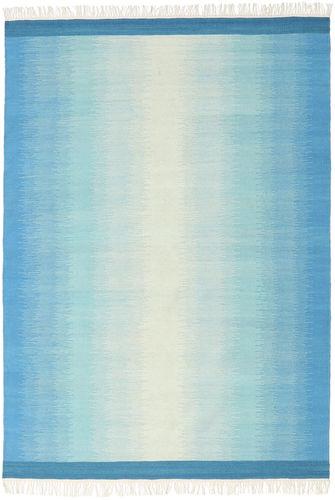 Ikat - Sininen / Turquoise-matto CVD17506