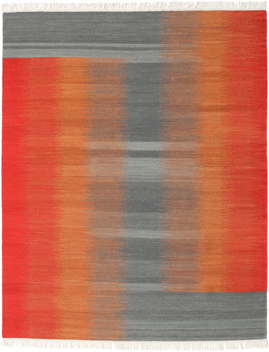 Ikat - Red / Grey carpet CVD17524