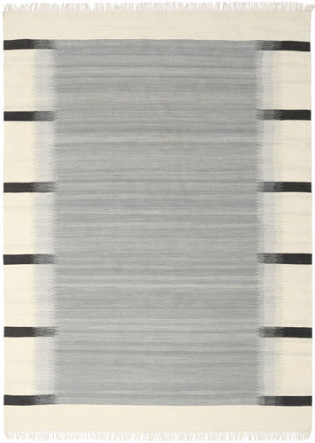 Ikat - grau Teppich CVD17532