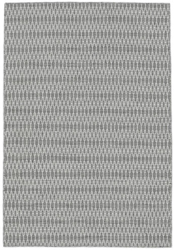 Kilim Long Stitch - Grey carpet CVD18821
