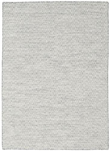 Kilim Goose Eye - Dark Grey rug CVD18857