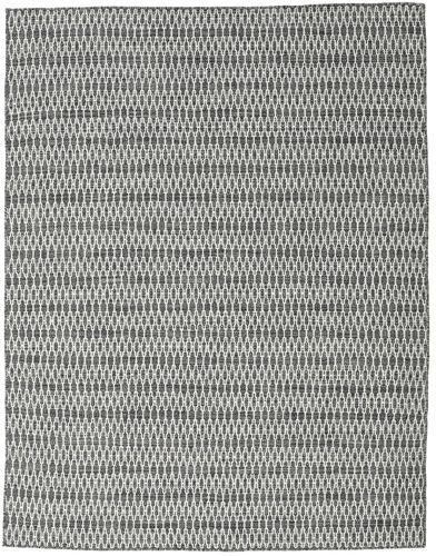 Kilim Long Stitch - Black / Grey carpet CVD18794