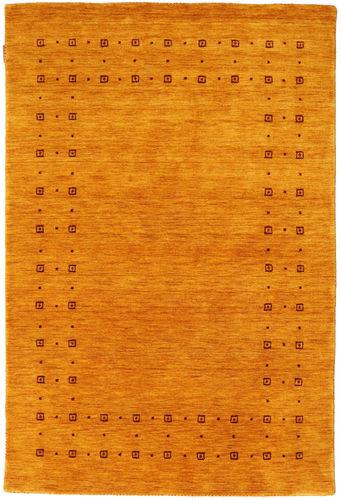 Loribaf Loom Delta - Gold rug CVD18136