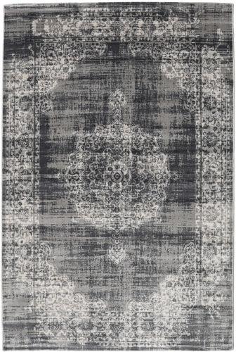 Jinder - Anthracite / Light Grey rug RVD19073