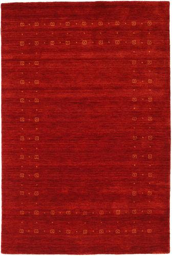 Loribaf Loom Delta - Red rug CVD17926