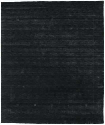 Loribaf Loom Giota - Svart / Grå teppe CVD17990