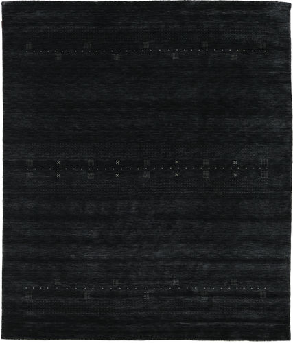 Loribaf Loom Eta - Zwart / Grijs tapijt CVD18000