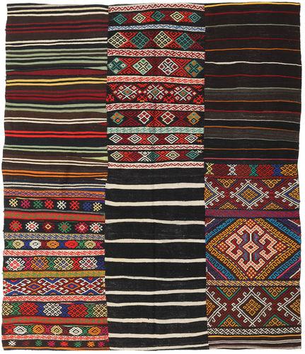 Kilim Patchwork carpet BHKZS157