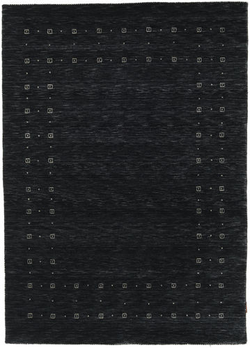 Loribaf Loom Delta - Black / Grey carpet CVD17269