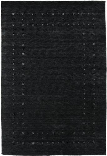 Loribaf Loom Delta - Svart / Grå matta CVD17266