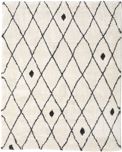Shaggy Zanjan - Off-White / Dark Grey rug CVD19581