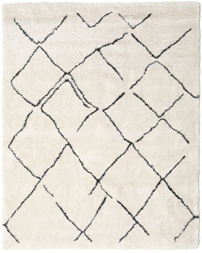 Shaggy Agadir - Off-White / Tumma Harmaa-matto CVD19365