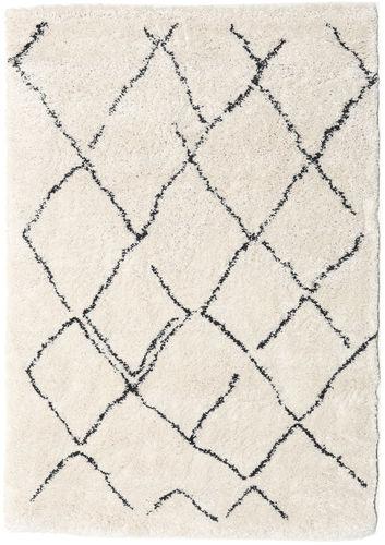 Shaggy Agadir - Off-White / Dark Grey carpet CVD19367